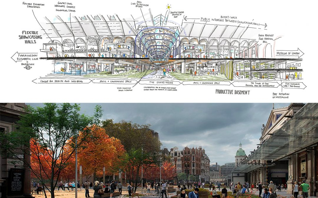 Architects appointed for Smithfield East and West buildings and public realm.